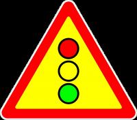 Знак 1.8 Светофорное регулирование (Временный)