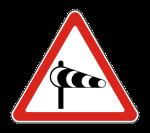 Знак 1.29 Боковой ветер