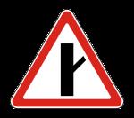 Знак 2.3.4 Примыкание второстепенной дороги