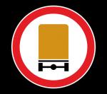 Знак 3.32 Движение транспортных средств с опасными грузами запрещено