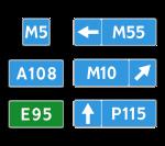 Знак 6.14 Номер маршрута