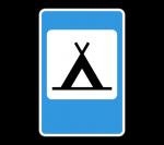 Знак 7.10 Кемпинг
