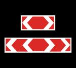 Знак 1.34.3 Направление поворота