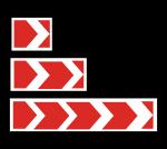 Знак 1.34.1 Направление поворота