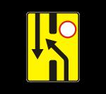 Знак 6.19.1 Предварительный указатель перестроения на другую проезжую часть